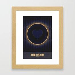 Pluto - The Heart Framed Art Print