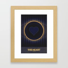 Pluto - The Heart Framed Art Print