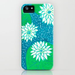 Water Lillies iPhone Case