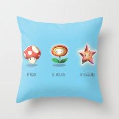 Be.  Throw Pillow