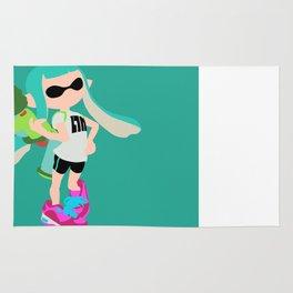 Inkling Girl (Aqua) - Splatoon Rug