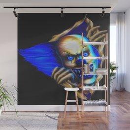 Evil Clown Wall Mural