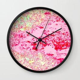 Rockpool Pink Wall Clock