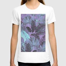 Tropical Leaf Lilac T-shirt