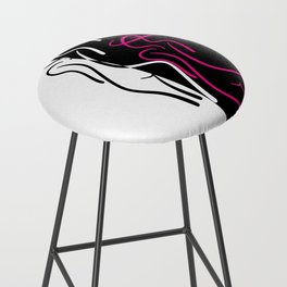 The Lady ~ From Sinners And Saints ~ Pure Bar Stool