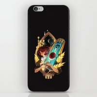 transistor iPhone & iPod Skins featuring Like It's Written in the Stars - Transistor by Stephanie Kao