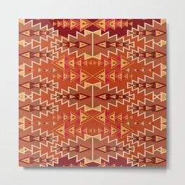 Indian Designs 256 Metal Print