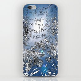 Everything that is Said on the Unspoken Plane iPhone Skin