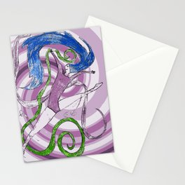 Ballet love Stationery Cards