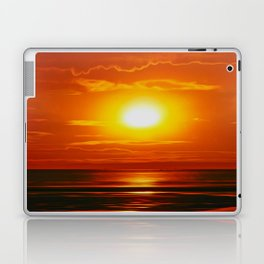 Golden Waters... Laptop & iPad Skin