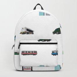 Boston Pixel Pattern Backpack