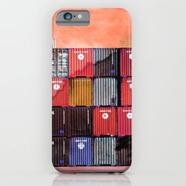 Colorful containers I iPhone Case