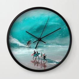 Wait for it - Julien Tabet - Photoshop Artwork Wall Clock