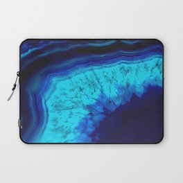 Royal Blue Turquoise Agate Laptop Sleeve