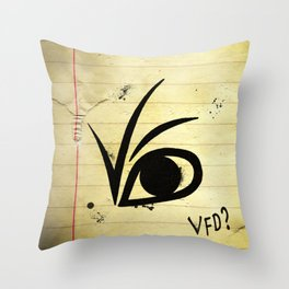 A SERIES OF UNFORTUNATE EVENTS EYE Throw Pillow