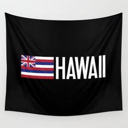 Hawaii: Hawaiin Flag & Hawaii Wall Tapestry