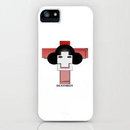 Deathbot iPhone Case