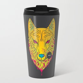 The Unbridled Anger of a Decapitated Direwolf Travel Mug