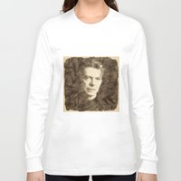 bowie Long Sleeve T-shirts featuring Bowie by Little Bunny Sunshine