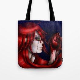 Crimson Madness Tote Bag