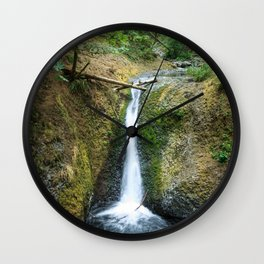 Middle Oneonta Falls Wall Clock