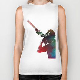 Shooting sport art #shooting #hunting Biker Tank