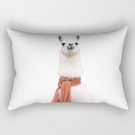 Lama Art Print Rectangular Pillow