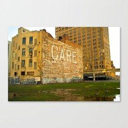 CARE Building Canvas Print