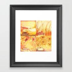 4 Tortoise Framed Art Print