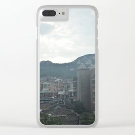 Overlooking Seoul Clear iPhone Case