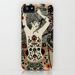 Child of the Earth iPhone Case