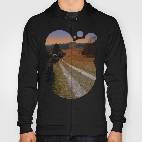 Scenery and a pathway into dawn | landscape photography Hoody