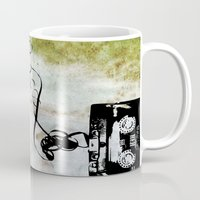 tape Mugs featuring Tape by CoCoCo