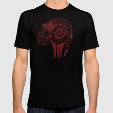 The Goat's Sin of Lust Mens Fitted Tee MEDIUM Black