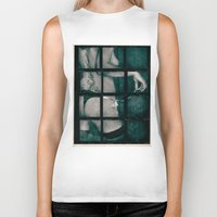 contact Biker Tanks featuring Contact by Sirenphotos