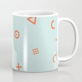 Happy Particles - Light Green Coffee Mug