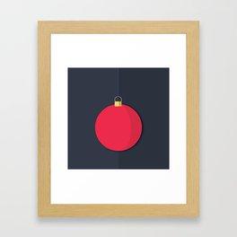 Christmas Globe - Illustration Framed Art Print