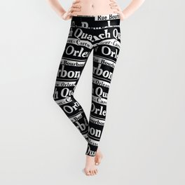 New Orleans French Quarters Leggings