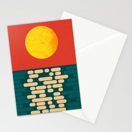 Sun Over The Sea - Afternoon Stationery Cards
