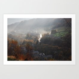 Hebden Bridge Art Print