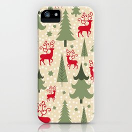 Christmas ornaments iPhone Case