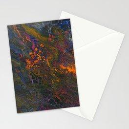 Acid Orange Stationery Cards