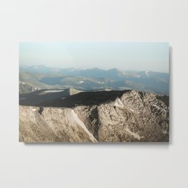 Mount Evans Summit Metal Print