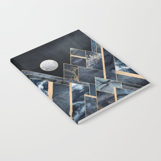 Stormy Mountains Notebook