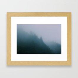 ☾ Kitsche Me Not ☽ Framed Art Print