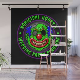 HOMICIDAL HONKY - WEDDING PARTY PLANNING Wall Mural