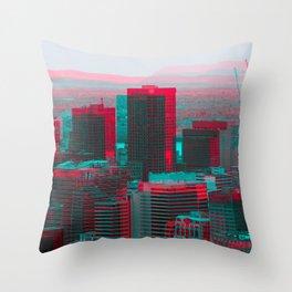Surreal Montreal #9 Throw Pillow