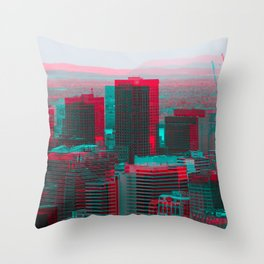 Surreal Montreal 9 Throw Pillow