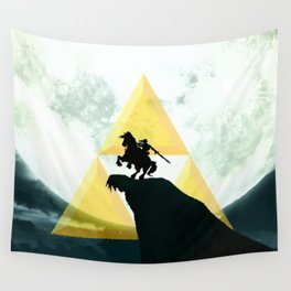 The Horse Of Triforce Wall Tapestry