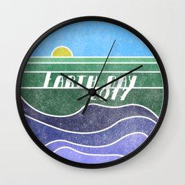 Earth Day 2017 Wall Clock